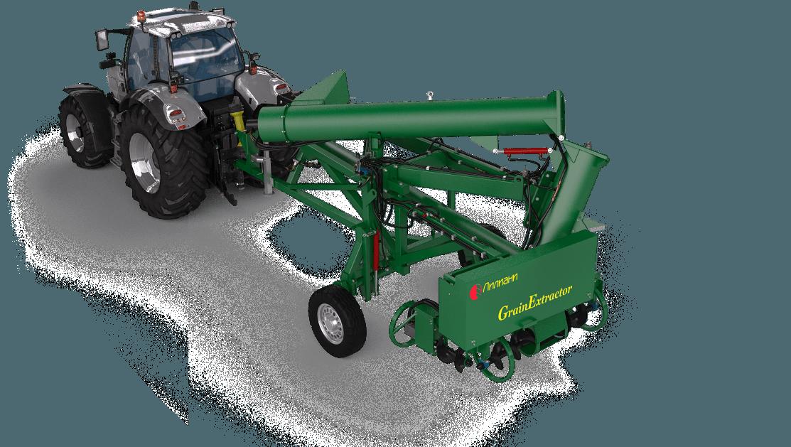 Зерноразгрузочная машина  МРЗ-250