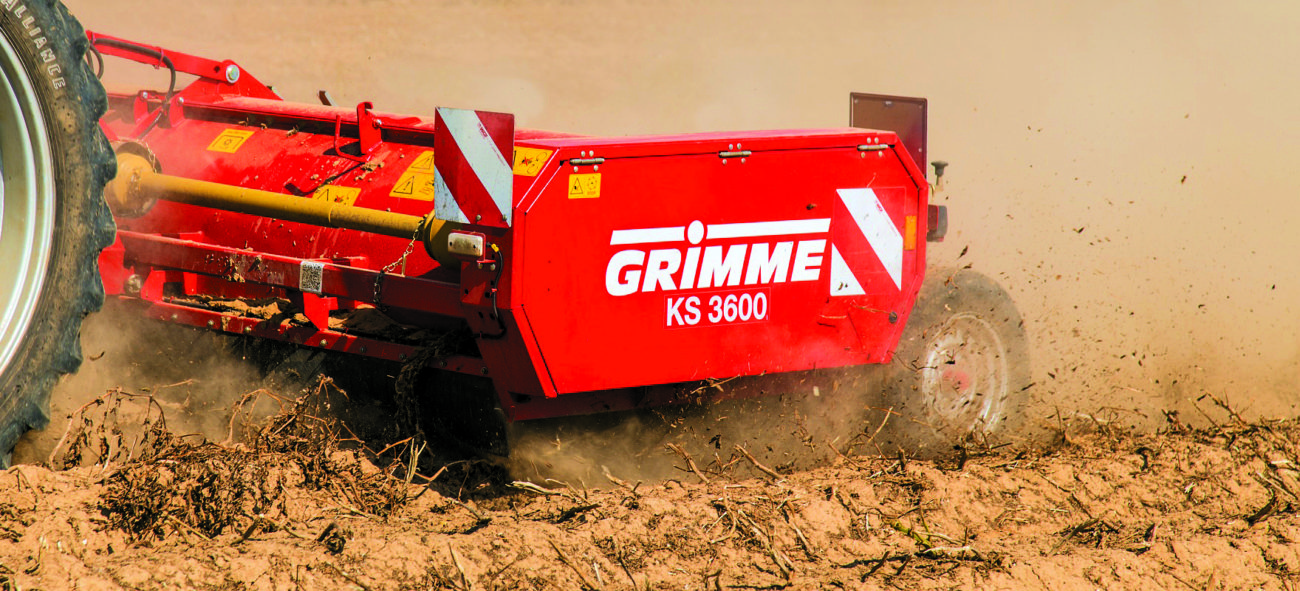 Ботвоудалитель Grimme KS-4 и KS-3600