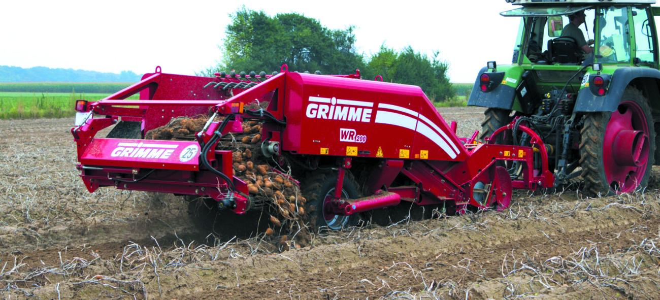Картофелекопалка Grimme WR-200